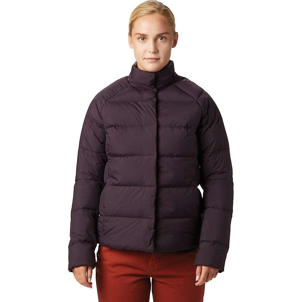 マウンテンハードウェア Mountain Hardwear レディース ダウン・中綿ジャケット アウター【glacial storm jacket】Darkest Dawn