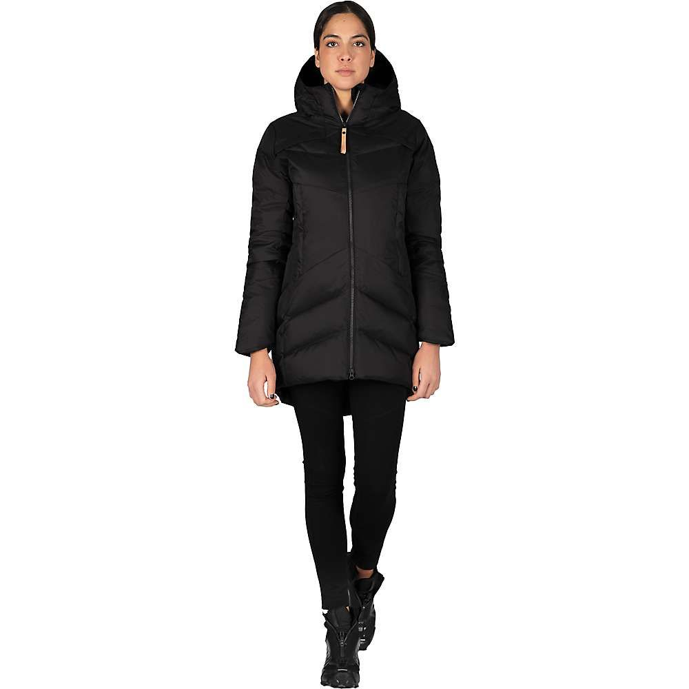 インデジェナ Indygena レディース ダウン・中綿ジャケット アウター【princino jacket】Pure Black