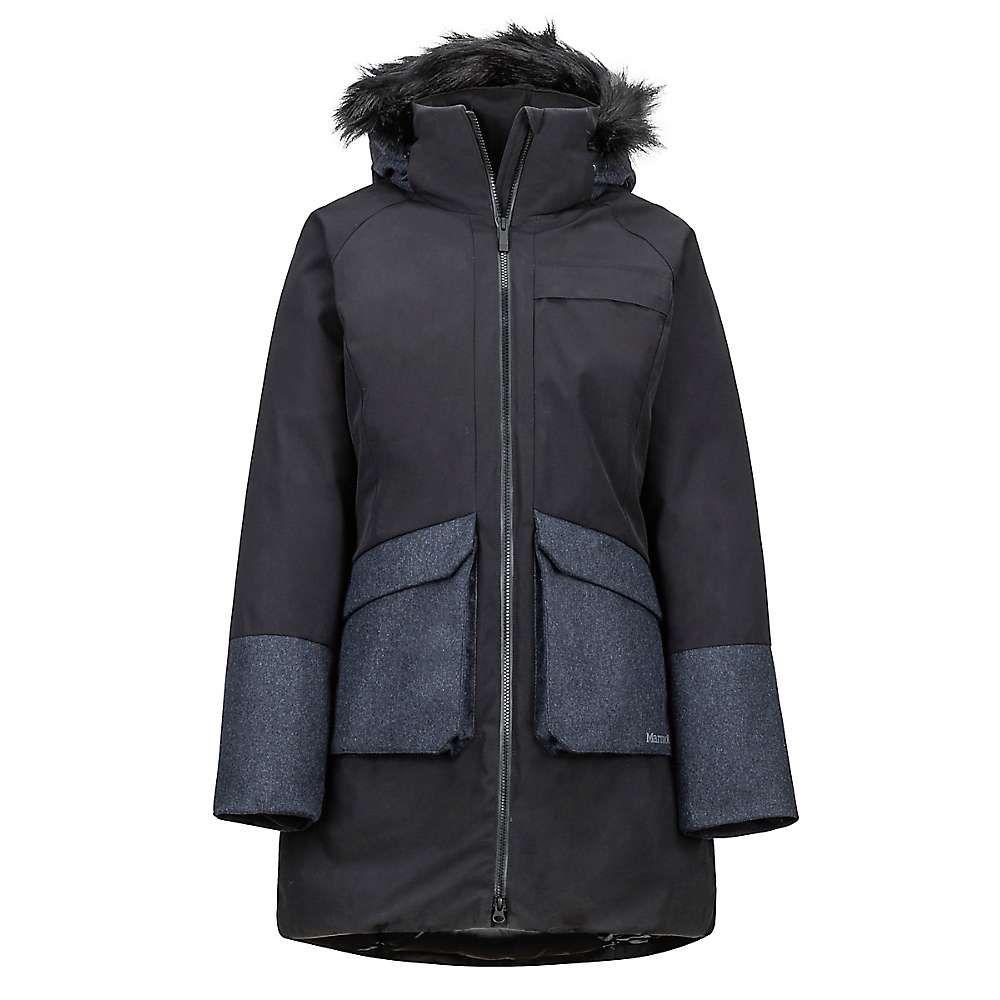 マーモット Marmot レディース ダウン・中綿ジャケット アウター【jules jacket】Black/Black Heather