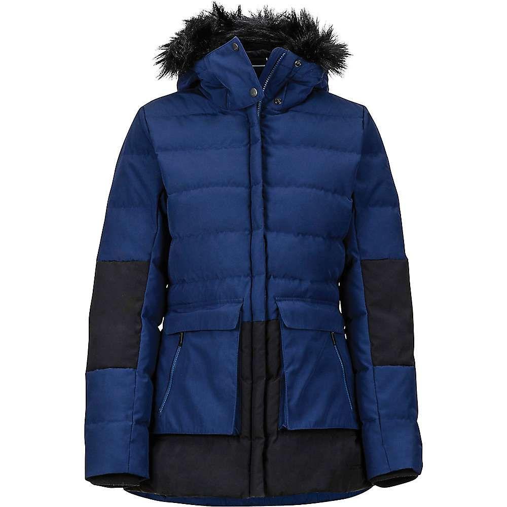 マーモット Marmot レディース ダウン・中綿ジャケット アウター【lexi jacket】Arctic Navy/Black