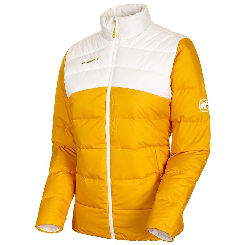 マムート Mammut レディース ダウン・中綿ジャケット アウター【whitehorn in jacket】Golden/Bright White
