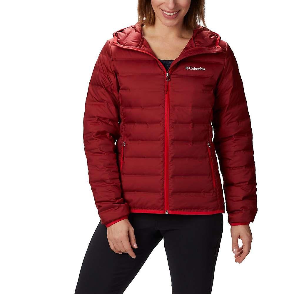 コロンビア Columbia レディース ダウン・中綿ジャケット フード アウター【lake 22 down hooded jacket】Beet/Red Lily