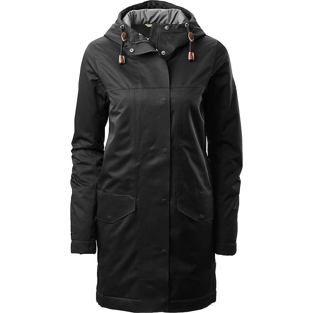 カトマンズ Kathmandu レディース レインコート アウター【stockton rain coat】Black