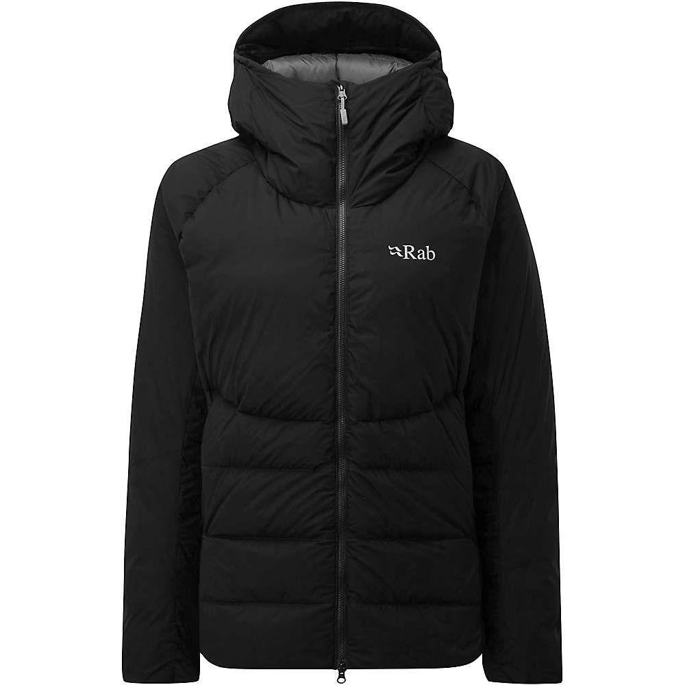 ラブ Rab レディース ダウン・中綿ジャケット アウター【infinity light jacket】Black