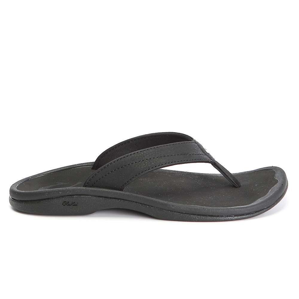 オルカイ OluKai レディース サンダル・ミュール シューズ・靴【'ohana sandal】Black/Black