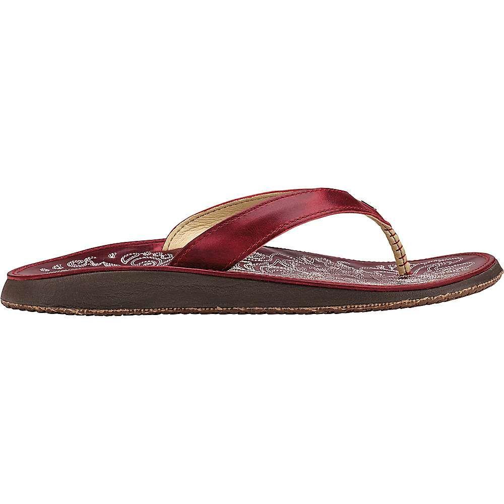 オルカイ OluKai レディース サンダル・ミュール シューズ・靴【paniolo sandal】Ohia Red/Ohia Red