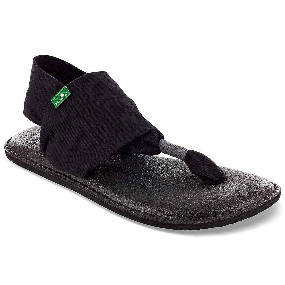 サヌーク Sanuk レディース ヨガ・ピラティス シューズ・靴【yoga sling 2 sandal】Black