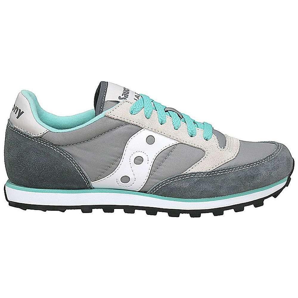 サッカニー Saucony レディース シューズ・靴 【jazz low pro shoe】Grey/White