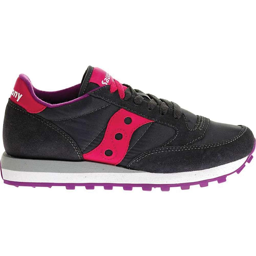 サッカニー Saucony レディース シューズ・靴 【jazz original shoe】Charcoal/Pink