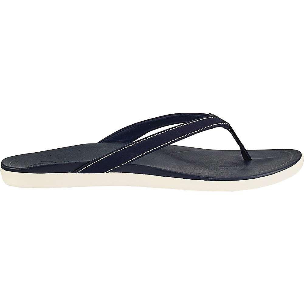 オルカイ OluKai レディース サンダル・ミュール シューズ・靴【ho'opio sandal】Trench Blue/Trench Blue