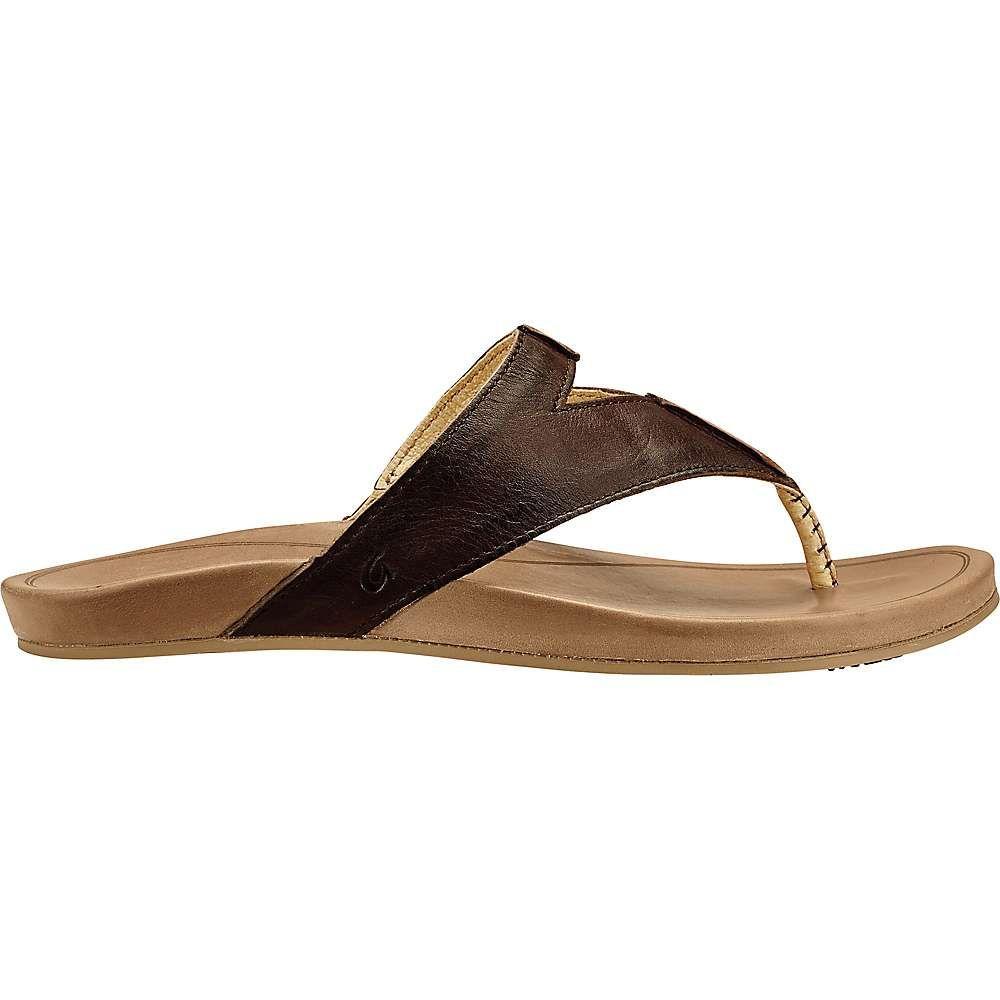 オルカイ OluKai レディース サンダル・ミュール シューズ・靴【lala sandal】Kona Coffee/Tan
