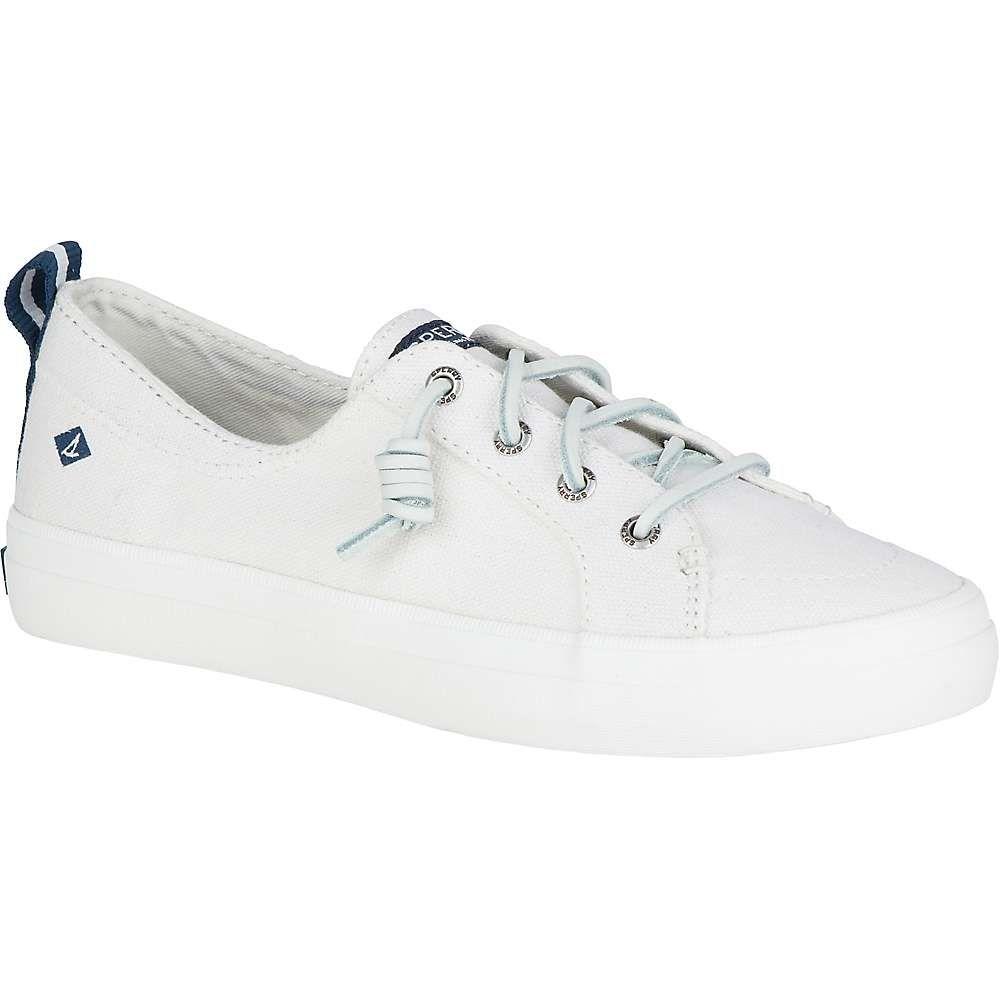 スペリー Sperry レディース シューズ・靴 【crest vibe linen shoe】White