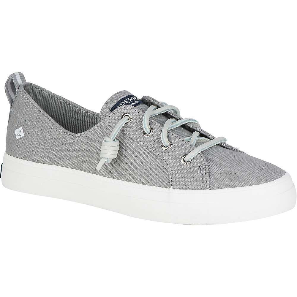 スペリー Sperry レディース シューズ・靴 【crest vibe linen shoe】Grey
