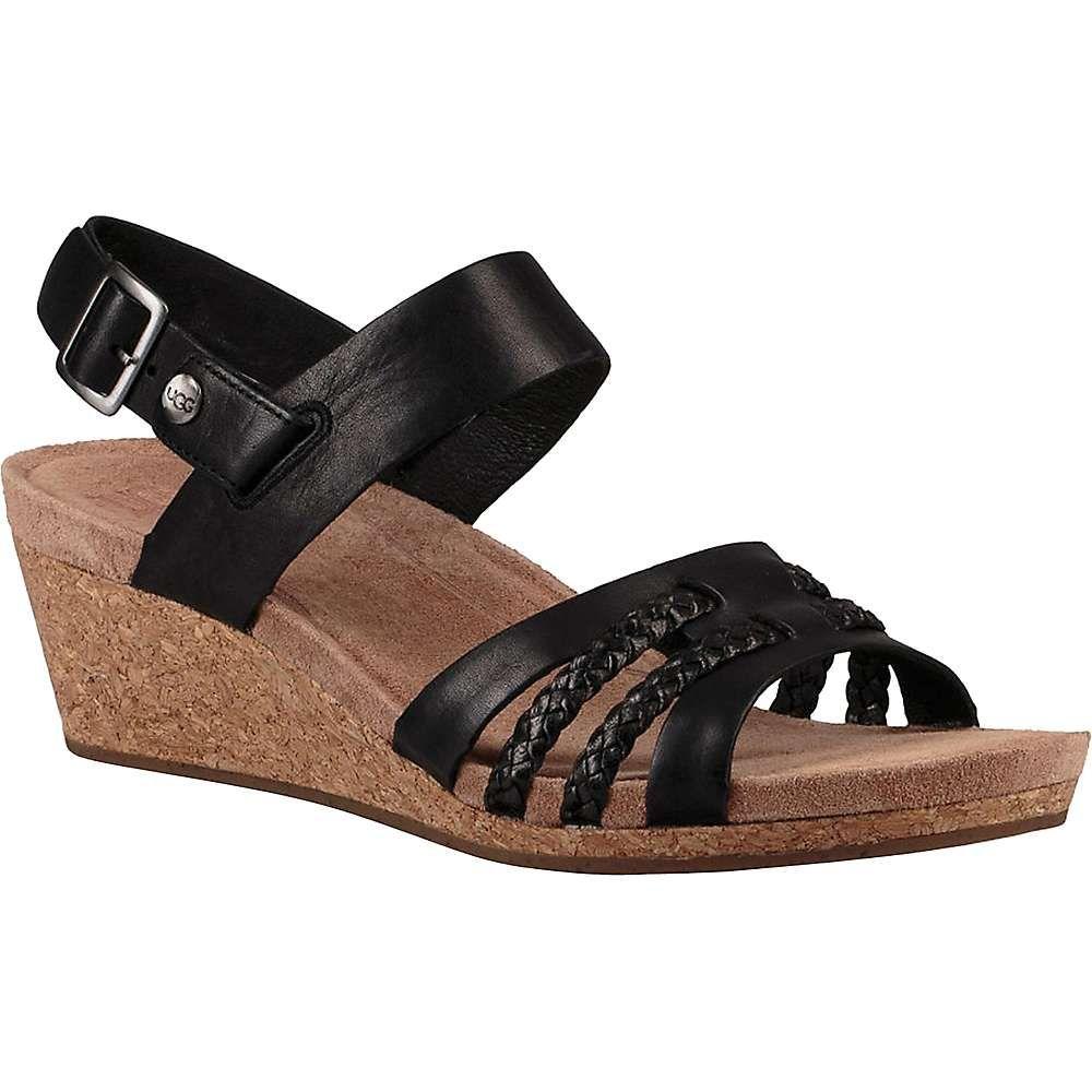 アグ Ugg レディース サンダル・ミュール シューズ・靴【serinda sandal】Black