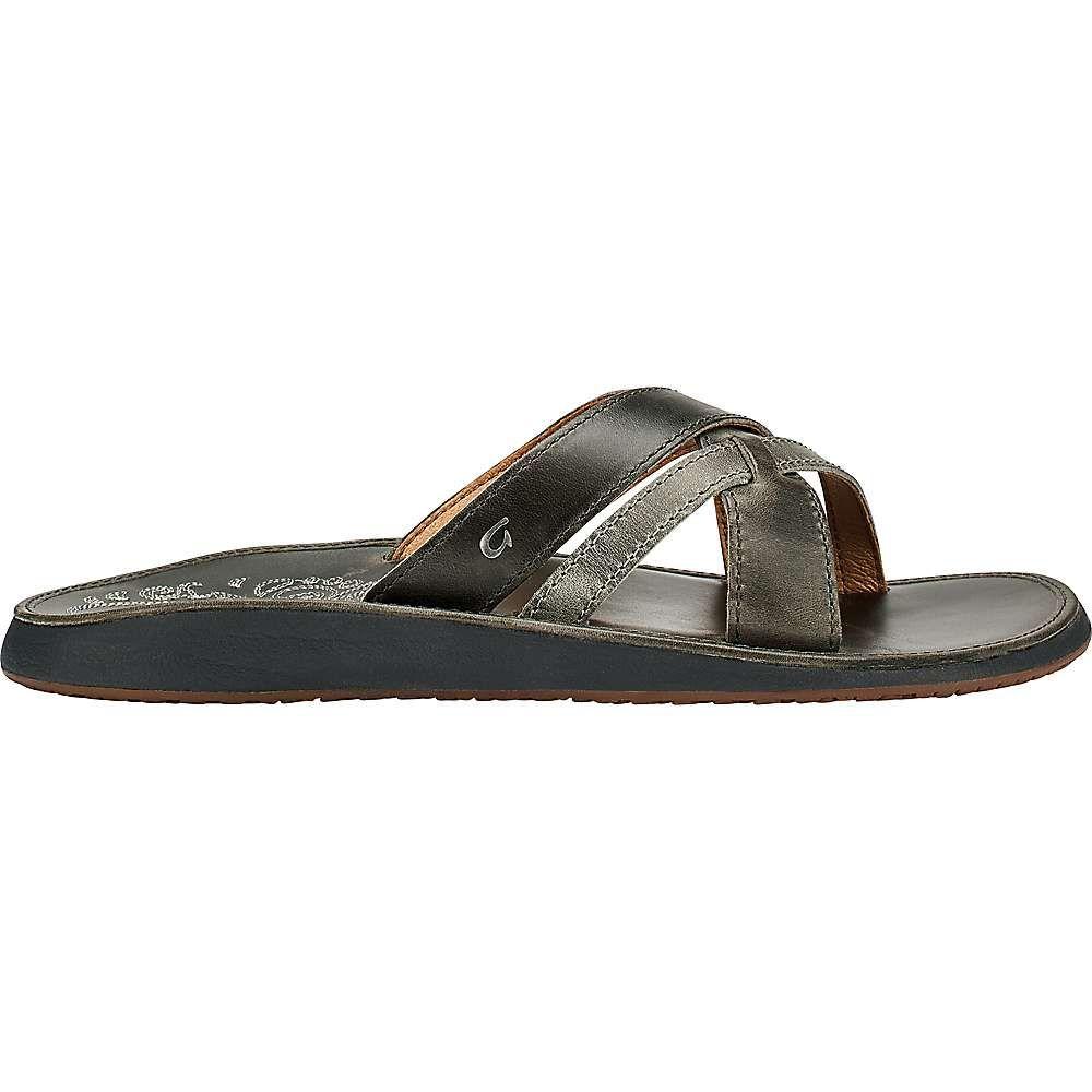 オルカイ OluKai レディース サンダル・ミュール シューズ・靴【paniolo slide】Charcoal/Charcoal