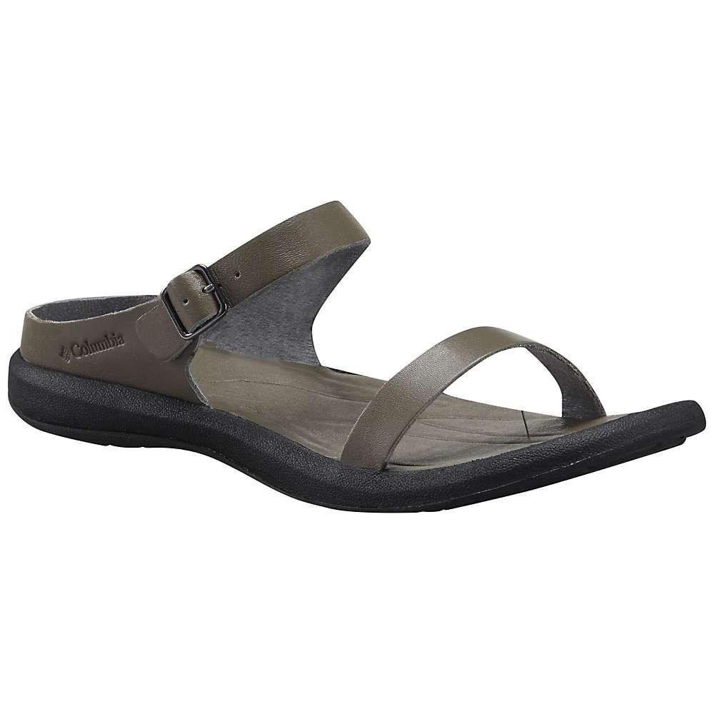 コロンビア Columbia Footwear レディース サンダル・ミュール シューズ・靴【columbia caprizee leather slide】City Grey/Black