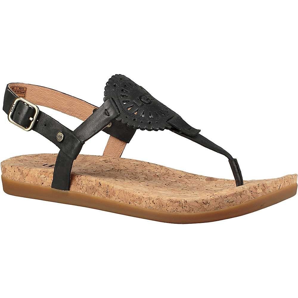アグ Ugg レディース サンダル・ミュール シューズ・靴【ayden ii sandal】Black
