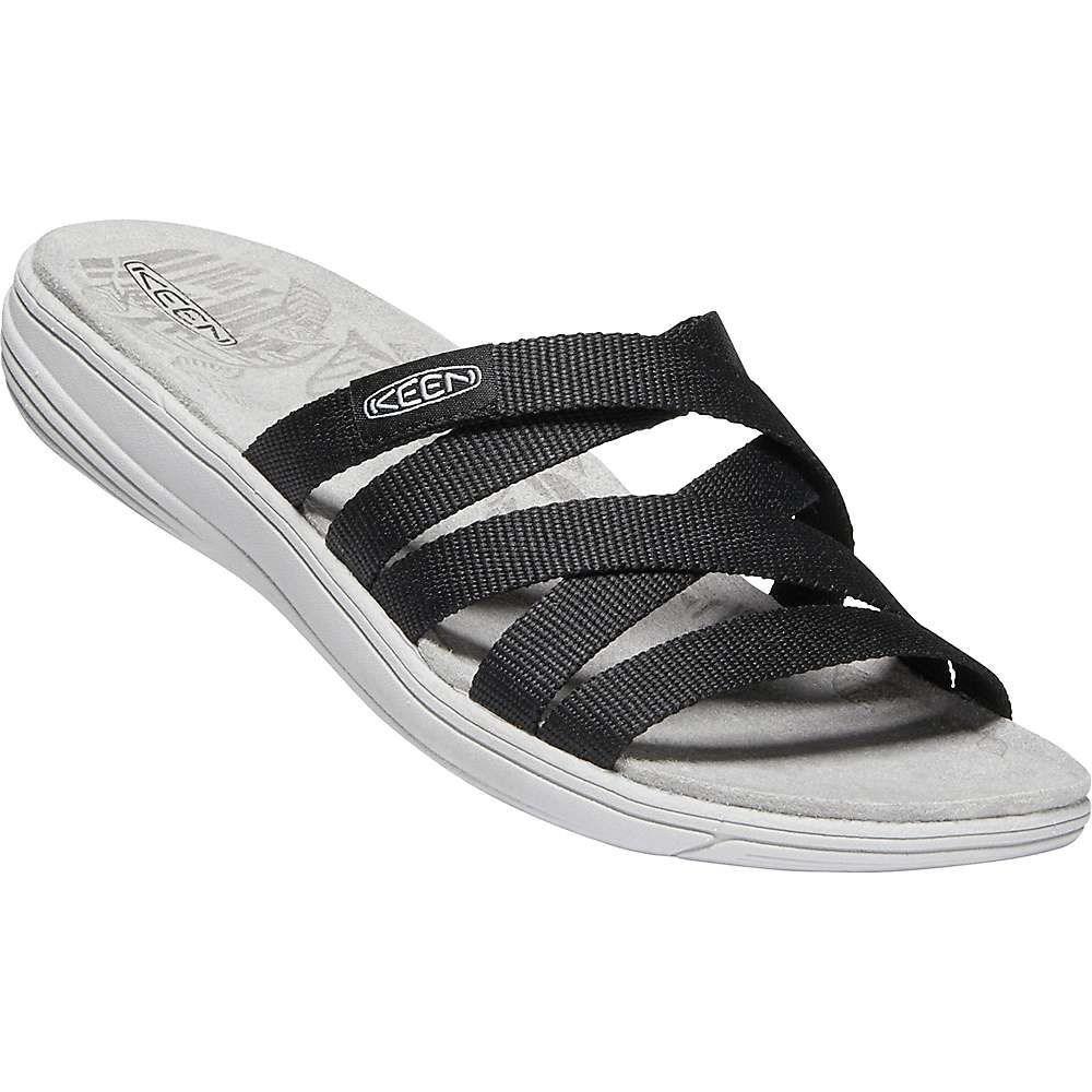 キーン Keen レディース サンダル・ミュール シューズ・靴【damaya slide】Black/Vapor Blue