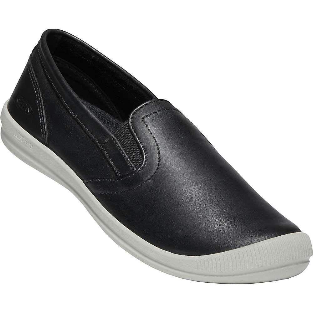 キーン Keen レディース スリッポン・フラット シューズ・靴【lorelai slip-on shoe】Black