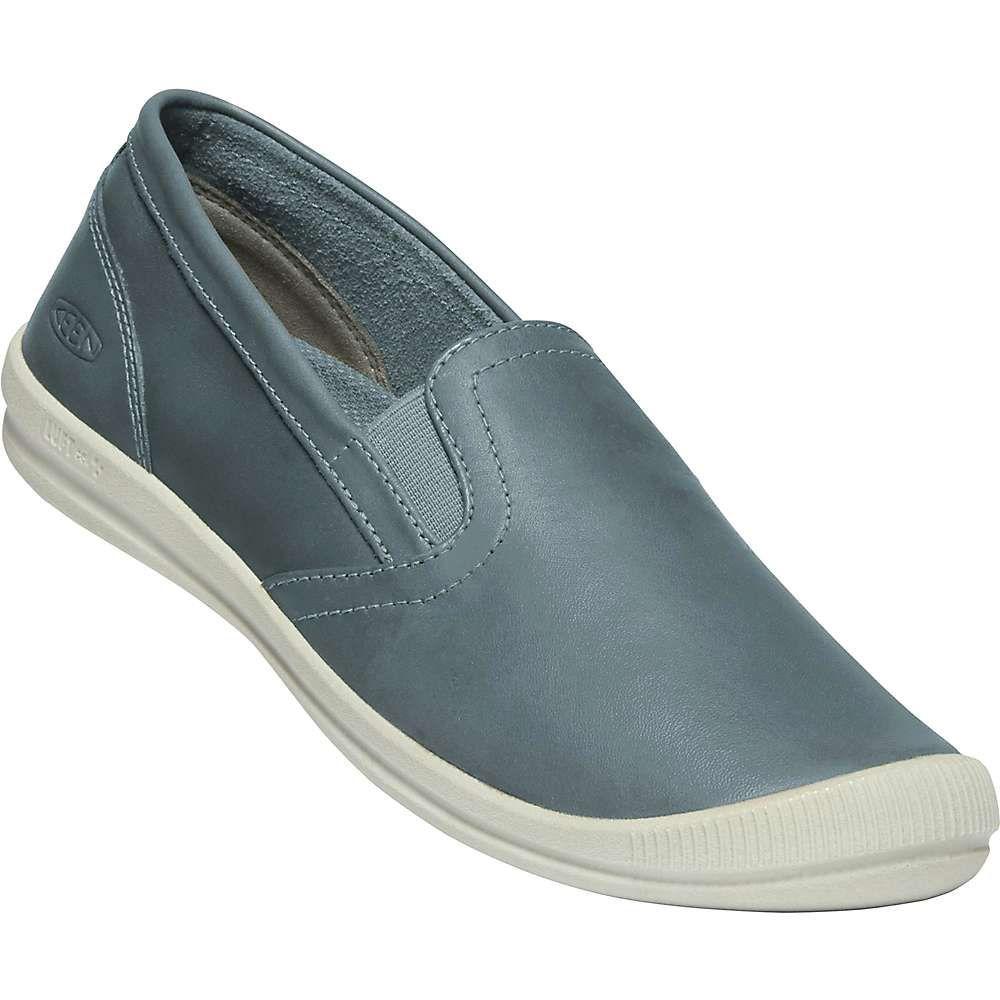 キーン Keen レディース スリッポン・フラット シューズ・靴【lorelai slip-on shoe】Blue Mirage