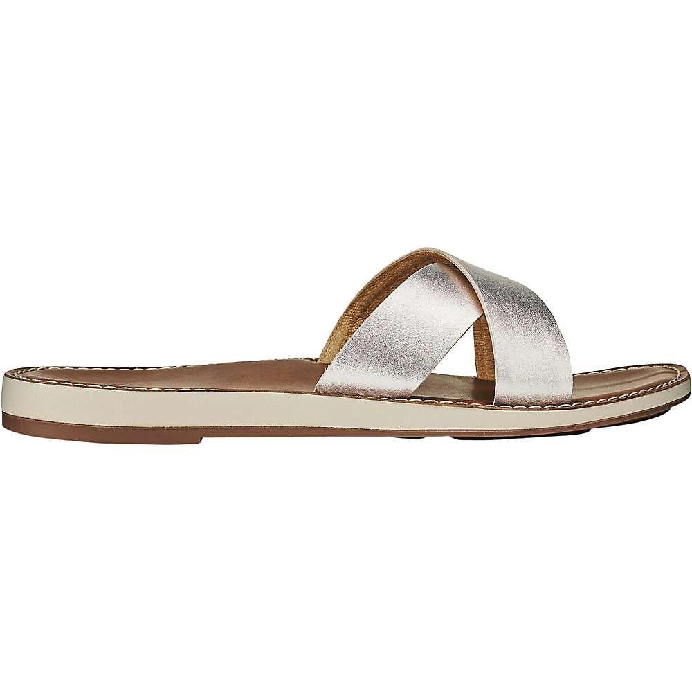 オルカイ OluKai レディース サンダル・ミュール シューズ・靴【ke'a sandal】Silver/Tan
