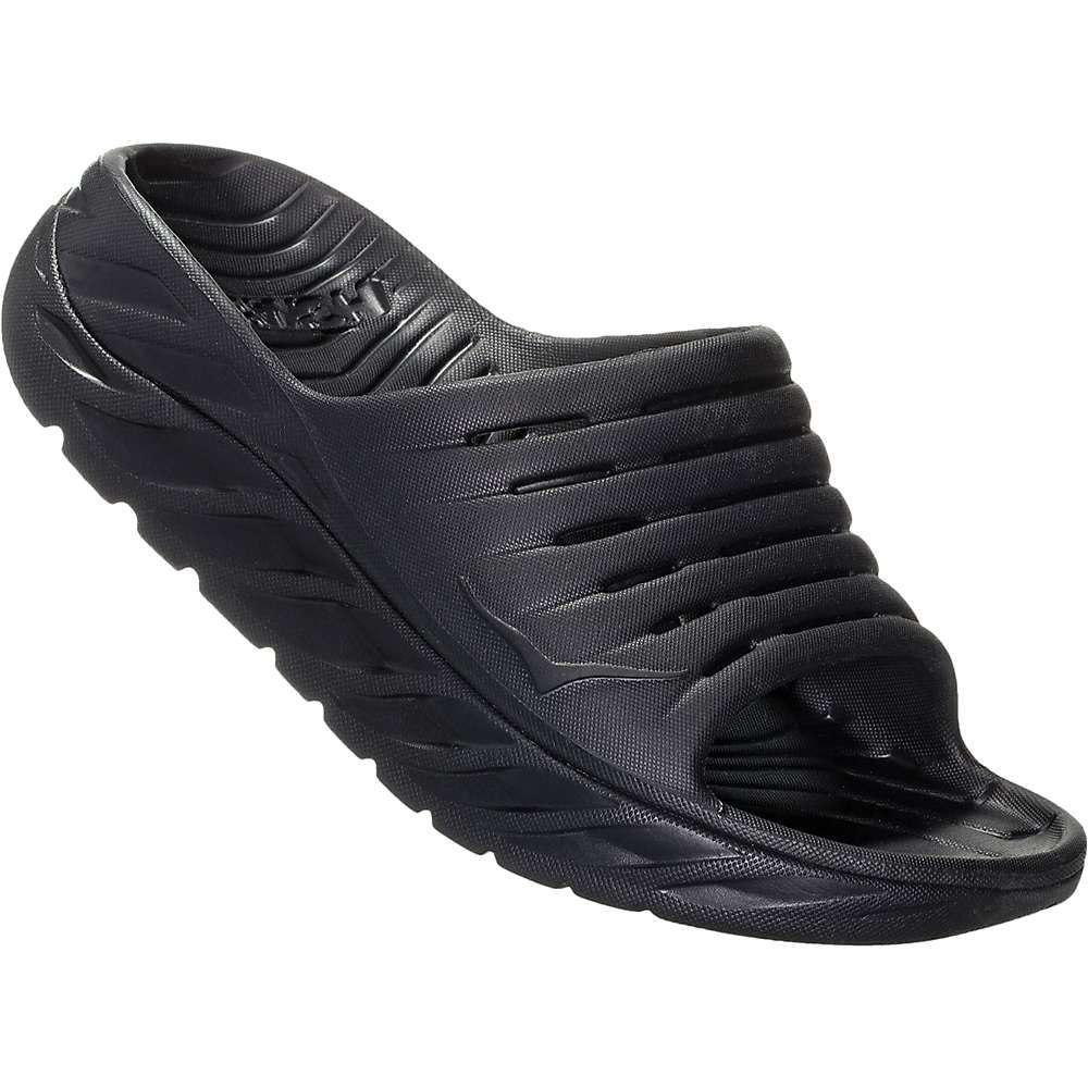 ホカ オネオネ Hoka One One レディース サンダル・ミュール シューズ・靴【ora recovery 2 slide】Black/Black