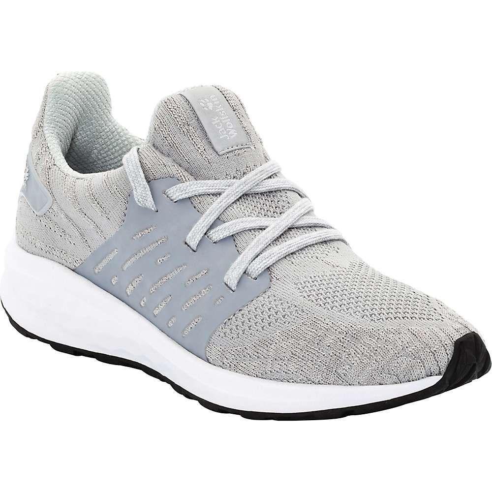 ジャックウルフスキン Jack Wolfskin レディース シューズ・靴 【coogee knit low shoe】Slate Grey