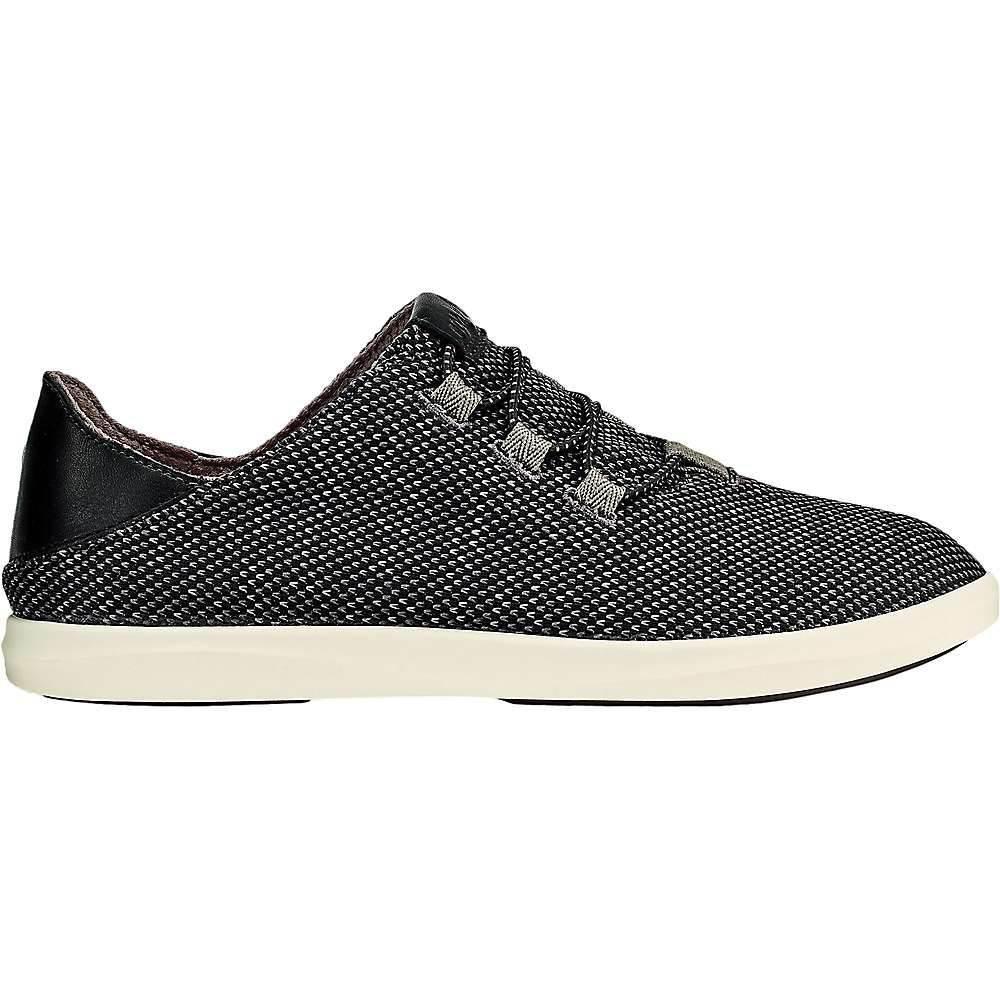 オルカイ OluKai レディース シューズ・靴 【hale'iwa li ha'a shoe】Black/Off White