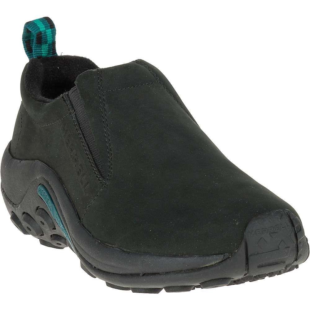 メレル Merrell レディース スリッポン・フラット シューズ・靴【jungle moc nubuck shoe】Black