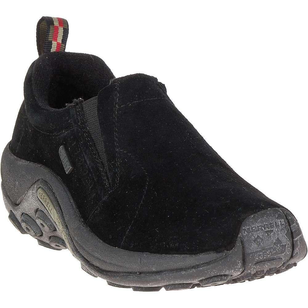 メレル Merrell レディース スリッポン・フラット シューズ・靴【jungle moc waterproof shoe】Black