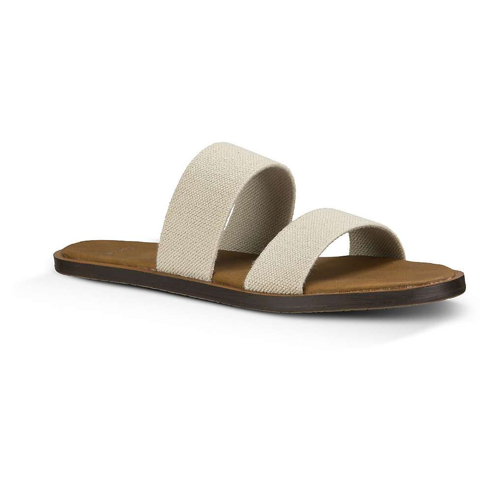 サヌーク Sanuk レディース ビーチサンダル シューズ・靴【yoga gora gora slide】Natural