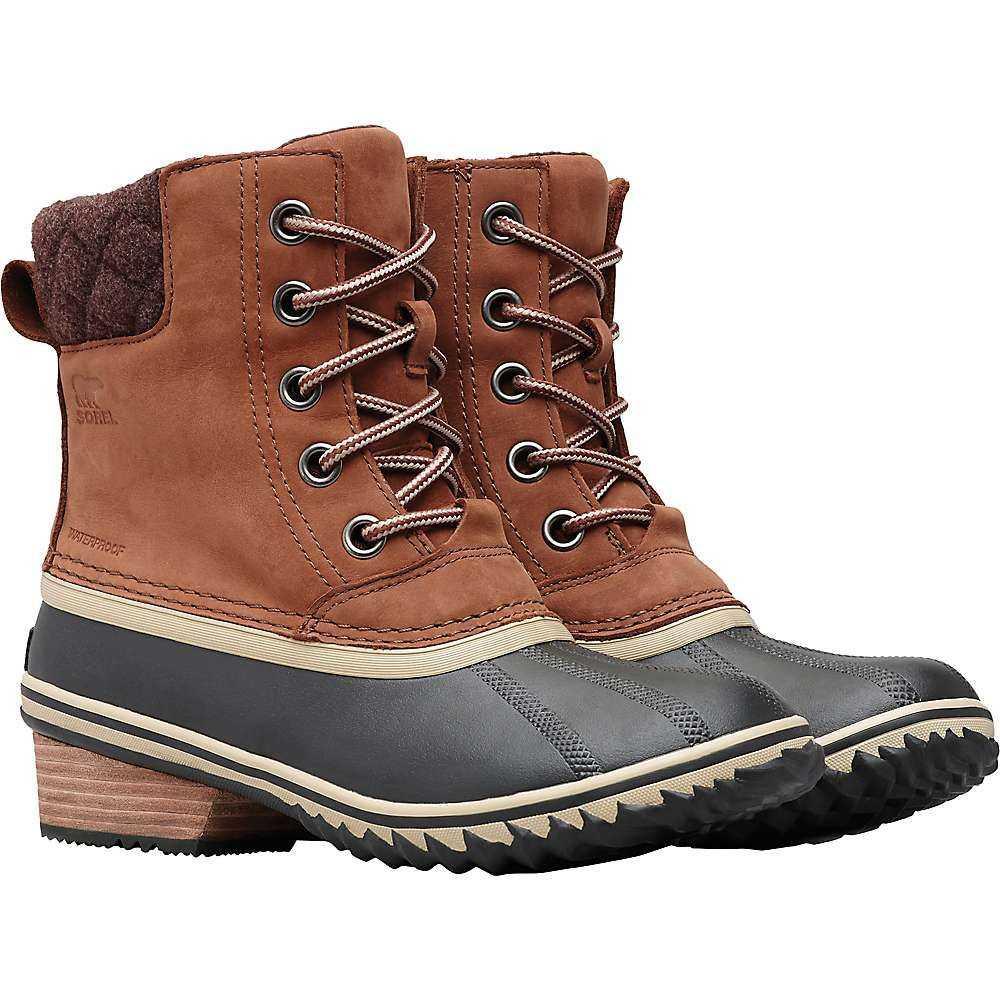 ソレル Sorel レディース ブーツ シューズ・靴【slimpack ii lace boot】Burro/Cattail