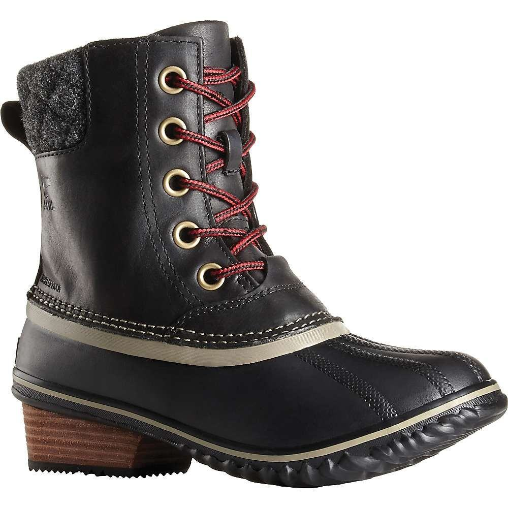 ソレル Sorel レディース ブーツ シューズ・靴【slimpack ii lace boot】Black/Kettle