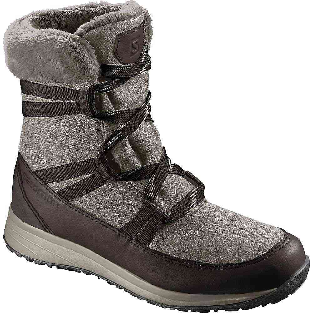 サロモン Salomon レディース ブーツ シューズ・靴【heika cs wp boot】Black Coffee/Cinder/Black