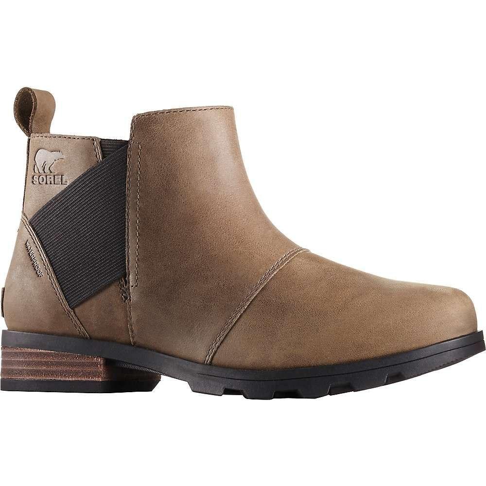 ソレル Sorel レディース ブーツ チェルシーブーツ シューズ・靴【emelie chelsea boot】Major/Black