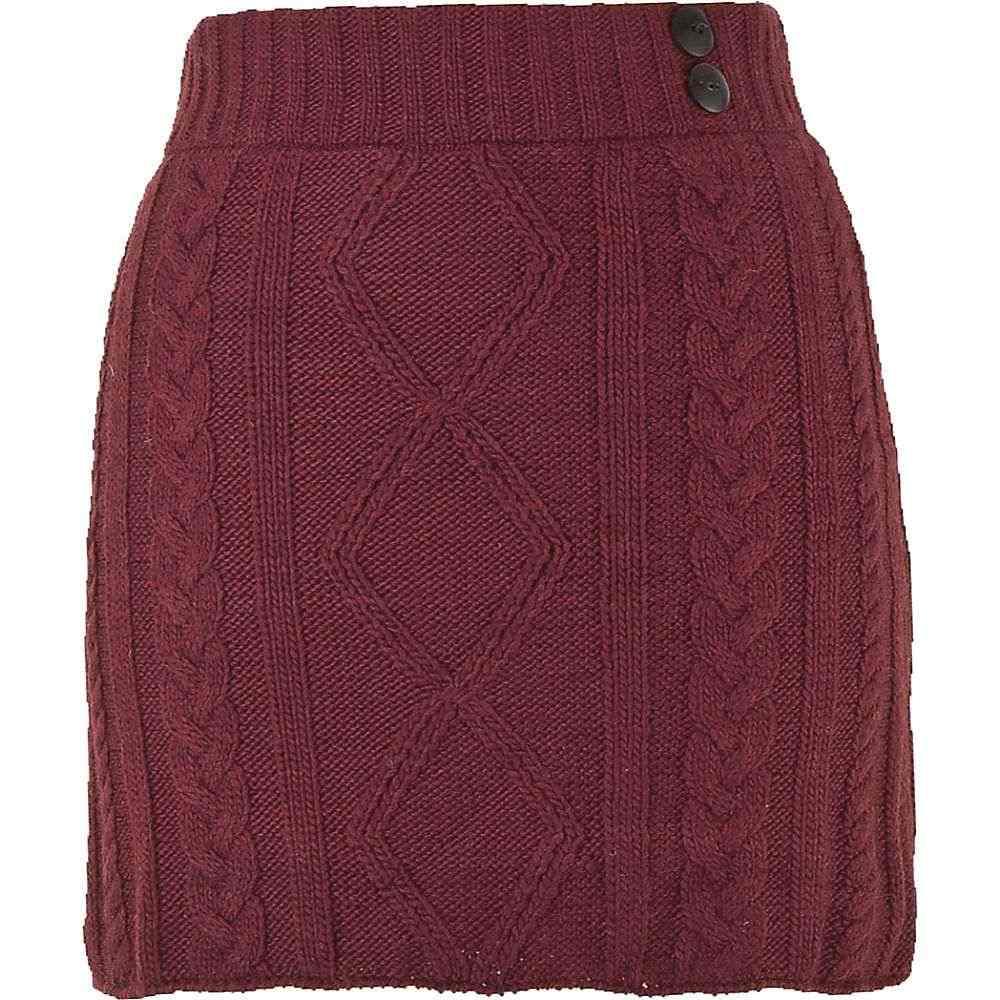 ランドロマット Laundromat レディース スカート 【grace skirt】Burgundy
