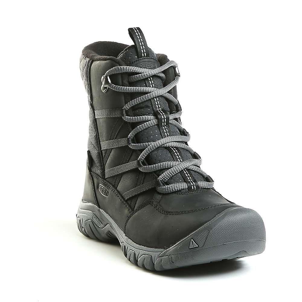 キーン Keen レディース ブーツ レースアップブーツ シューズ・靴【hoodoo iii lace up boot】Black/Magnet