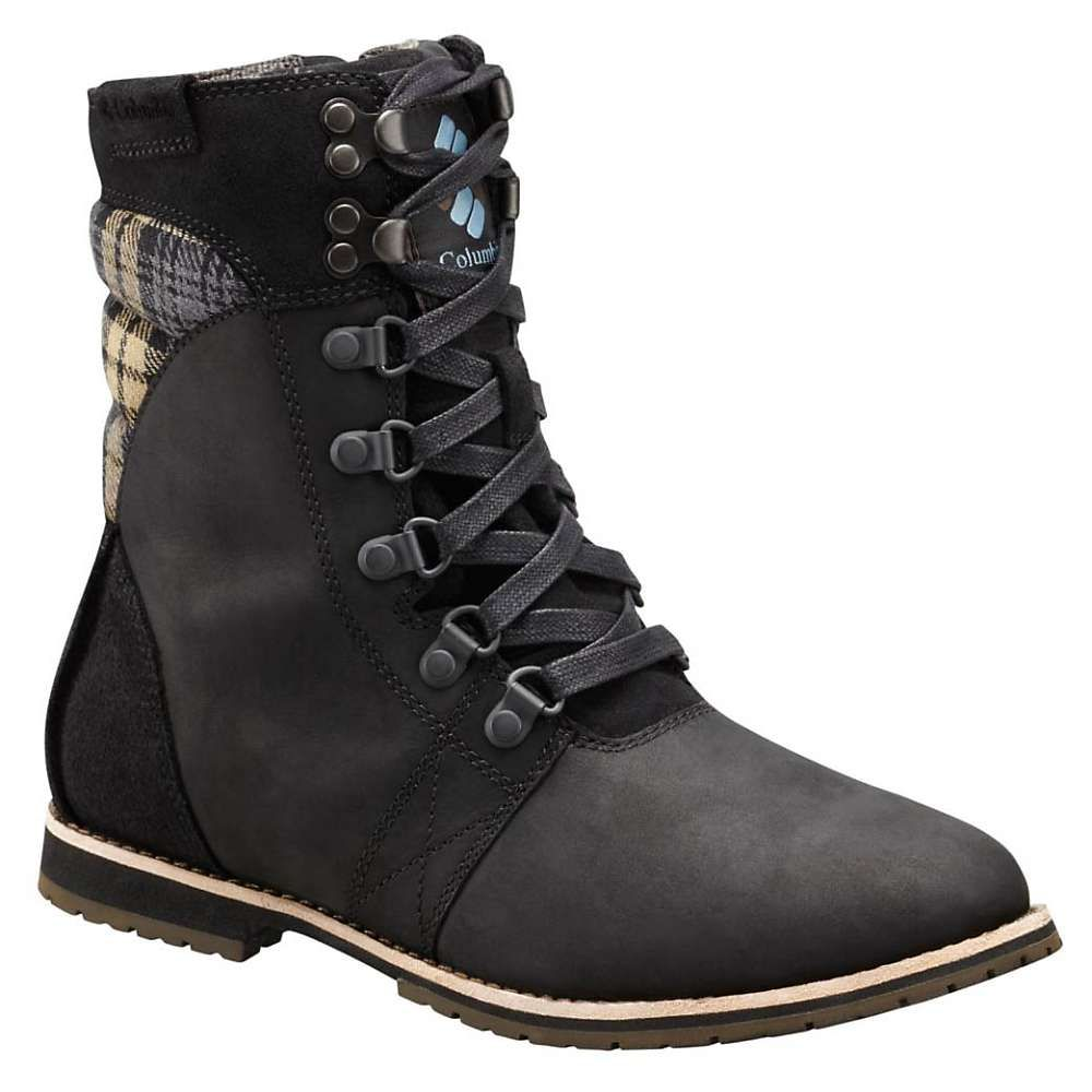 コロンビア Columbia Footwear レディース ブーツ シューズ・靴【columbia twentythird ave wp mid boot】Black/Storm Print