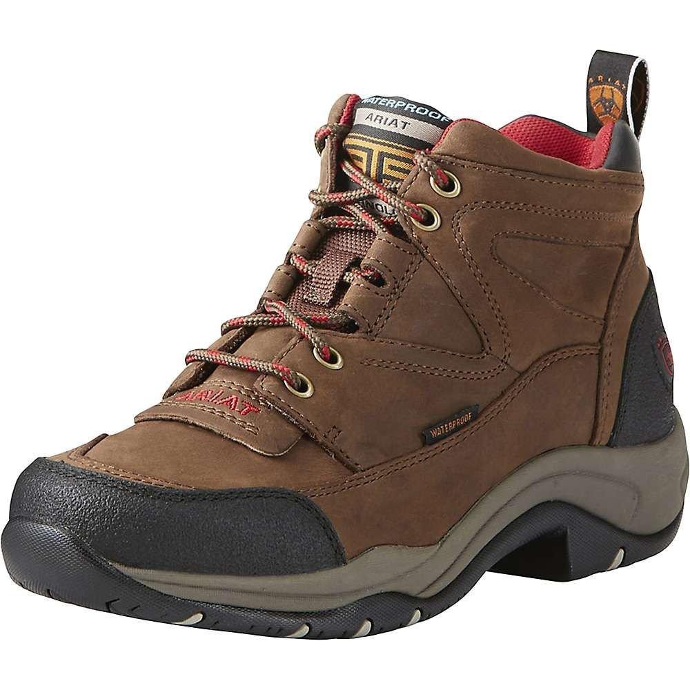 アリアト Ariat レディース ブーツ シューズ・靴【terrain h2o wp boot】Distressed Brown