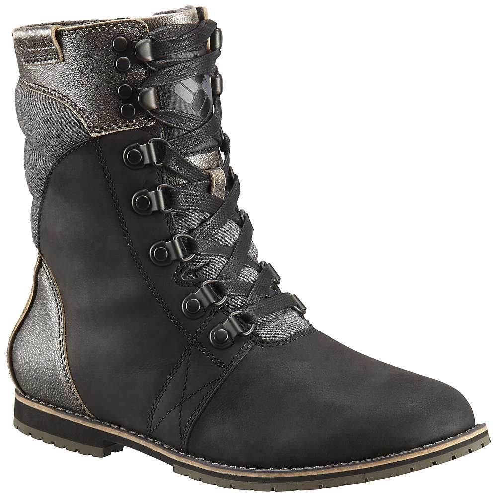 コロンビア Columbia Footwear レディース ブーツ シューズ・靴【columbia twentythird ave ii mid wp boot】Black/Ti Grey Steel