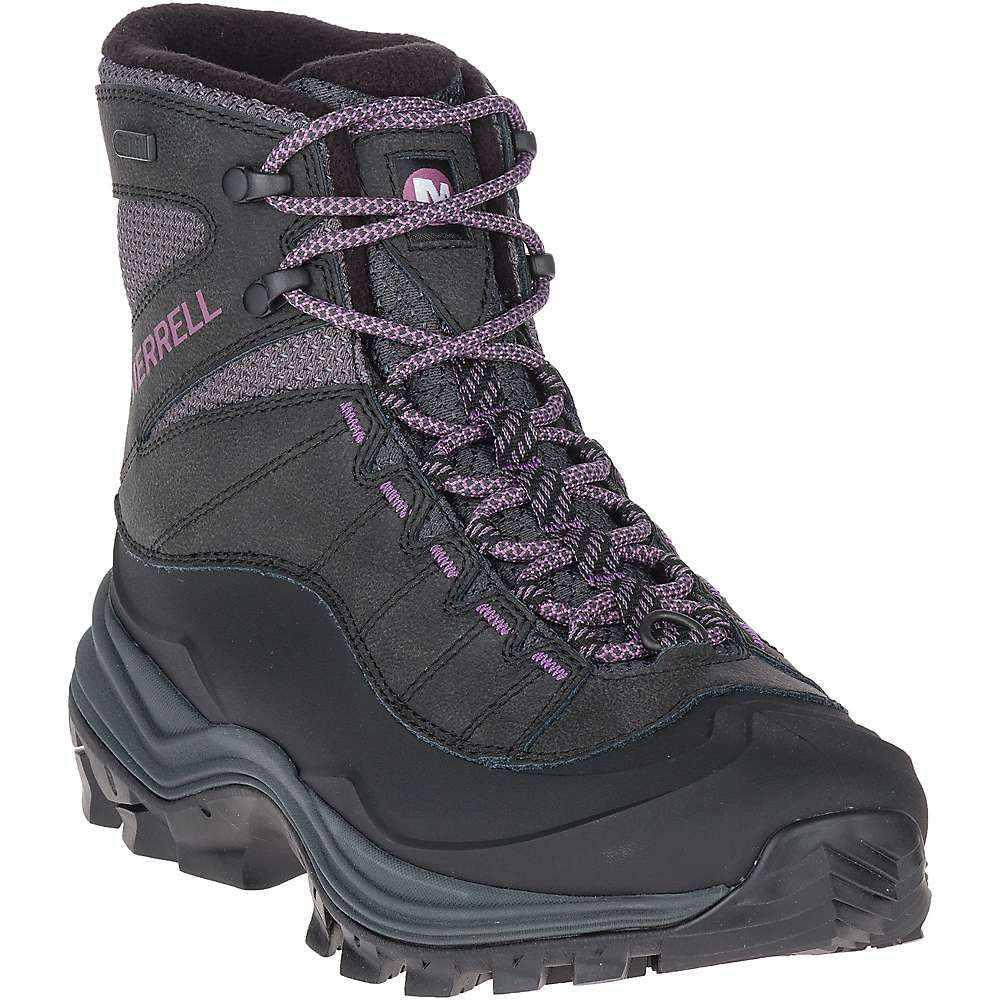 メレル Merrell レディース ブーツ シューズ・靴【thermo chill 6in shell waterproof boot】Black