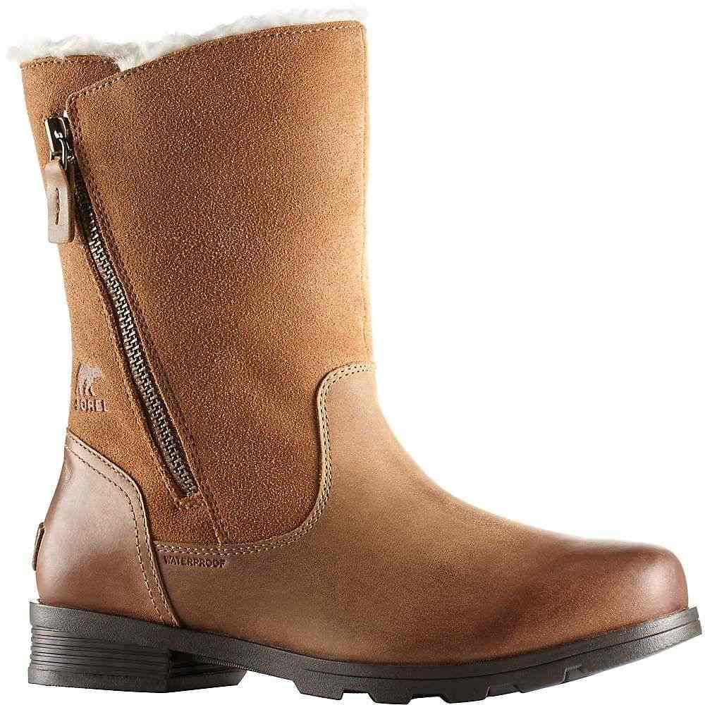 ソレル Sorel レディース ブーツ シューズ・靴【emelie foldover boot】Camel Brown