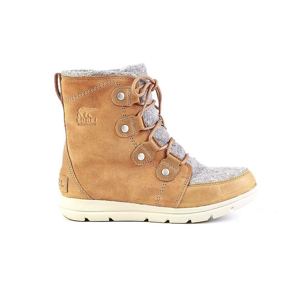 ソレル Sorel レディース ブーツ シューズ・靴【explorer joan boot】Camel Brown