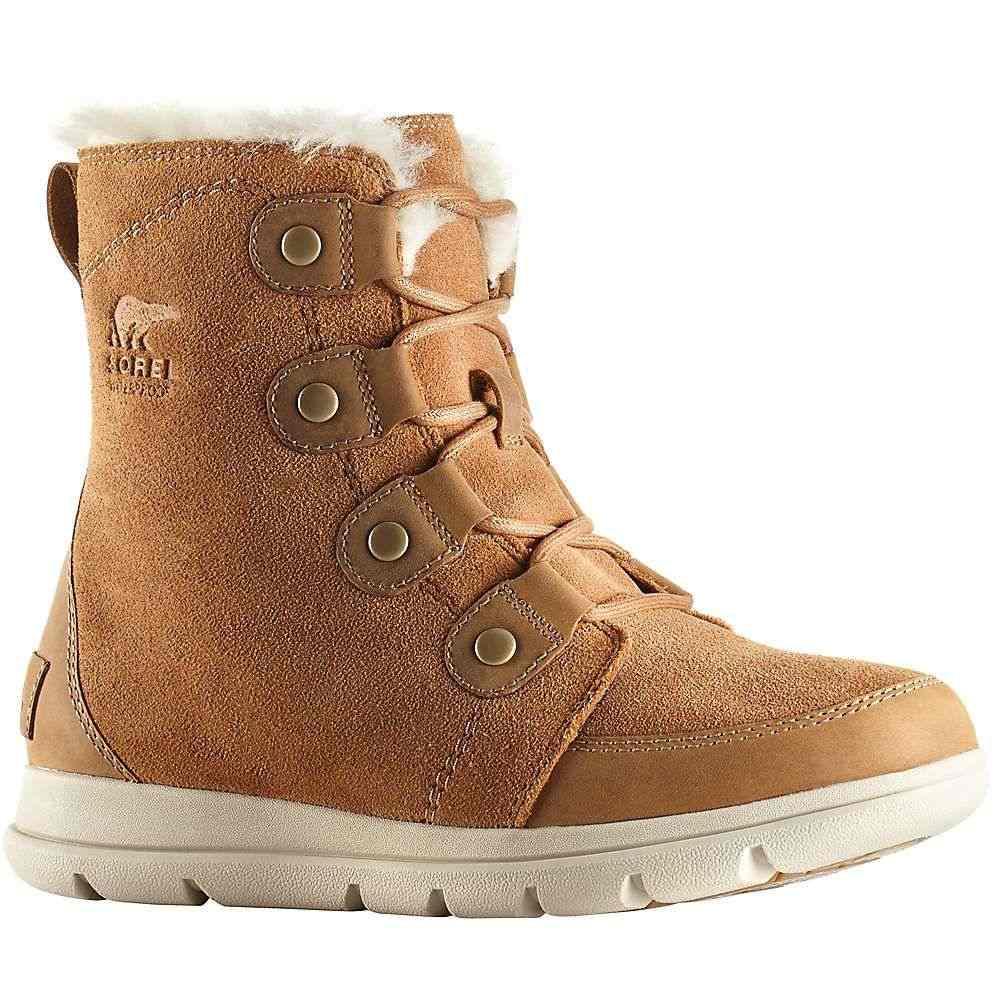 ソレル Sorel レディース ブーツ シューズ・靴【explorer joan boot】Camel Brown/Ancient Fossil
