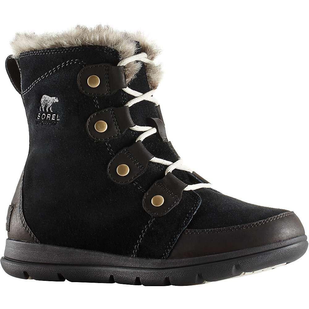 ソレル Sorel レディース ブーツ シューズ・靴【explorer joan boot】Black/Dark Stone