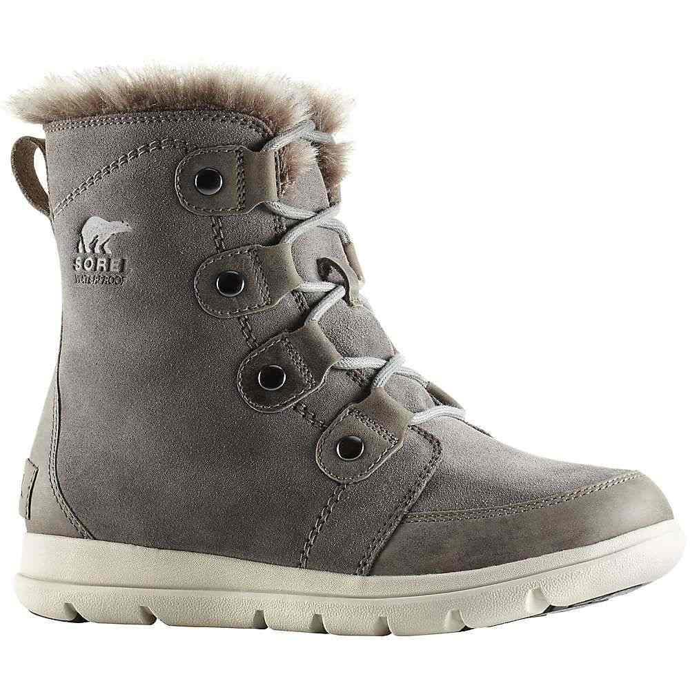 ソレル Sorel レディース ブーツ シューズ・靴【explorer joan boot】Quarry/Black