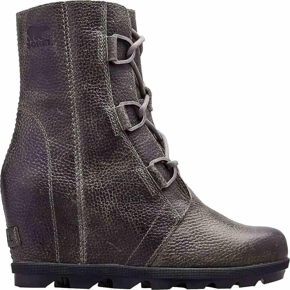 ソレル Sorel レディース ブーツ ウェッジソール シューズ・靴【joan of arctic wedge ii boot】IMP Quarry