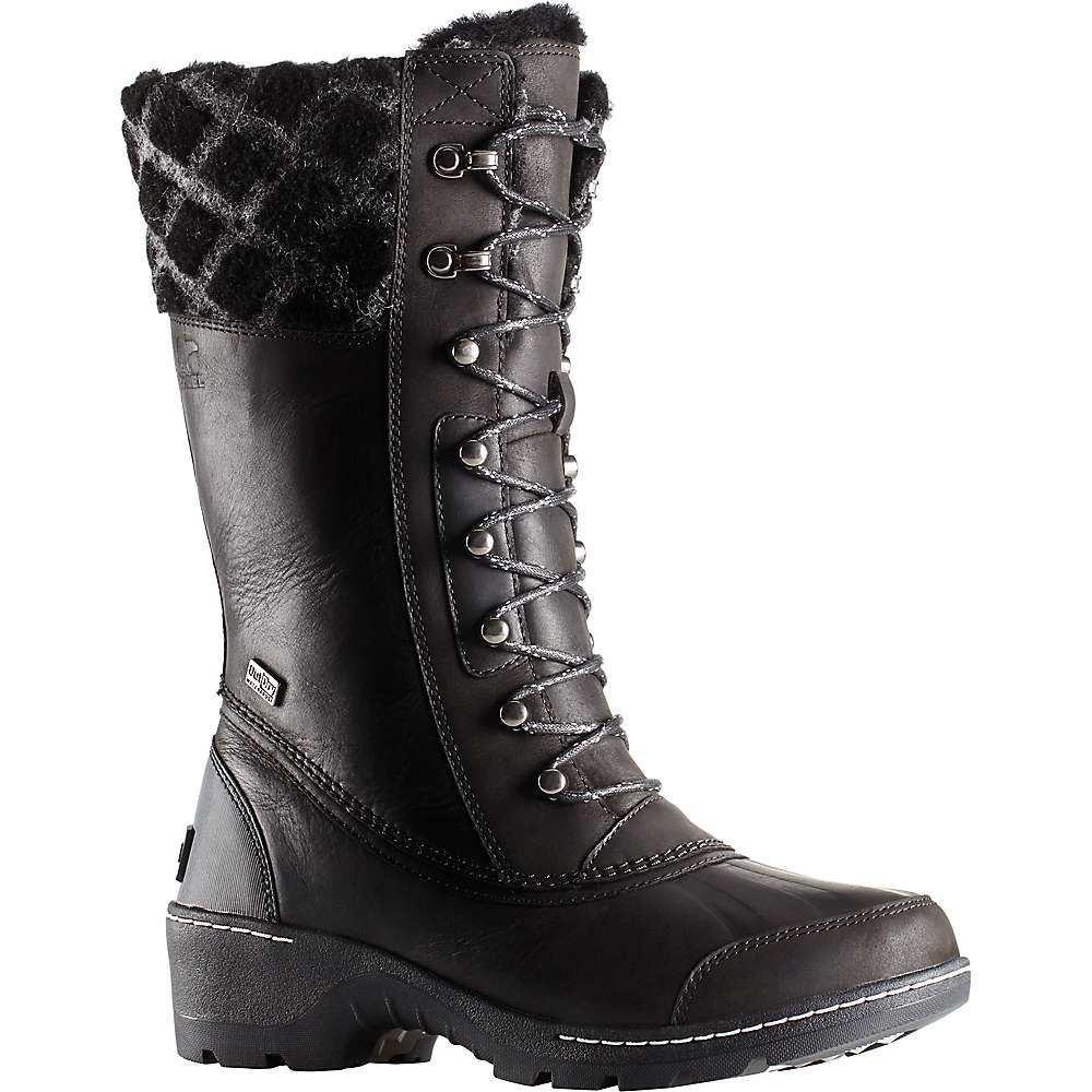 ソレル Sorel レディース ブーツ シューズ・靴【whistler tall boot】Black/Dark Stone