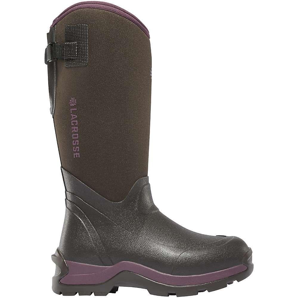 ラクロッセ Lacrosse レディース ブーツ シューズ・靴【alpha thermal 14in 7.0mm neoprene boot】Chocolate/Plum