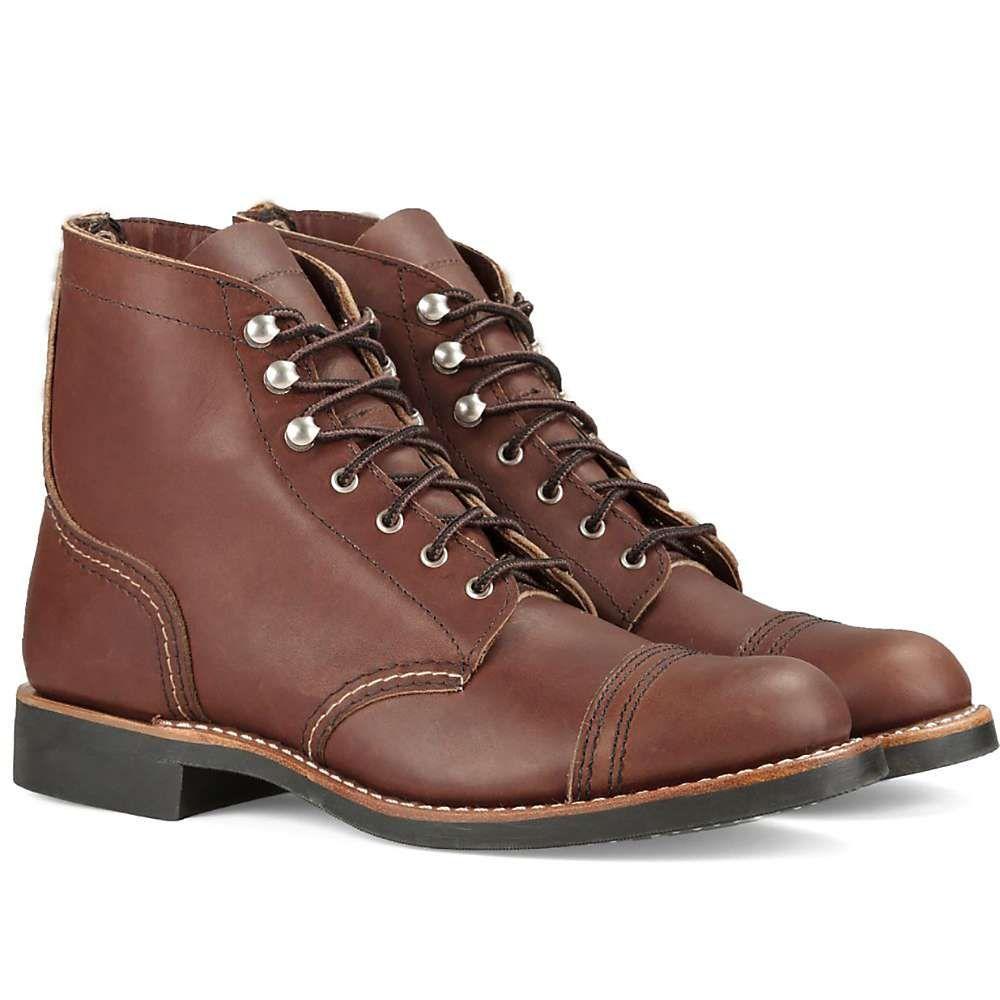 レッドウィング Red Wing Shoes レディース ブーツ シューズ・靴【red wing heritage 3365 iron ranger boot】Amber Harness